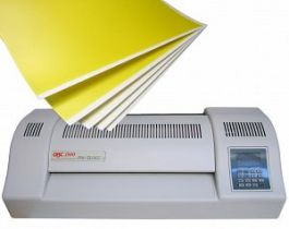 Laminator and A4 Paper Package