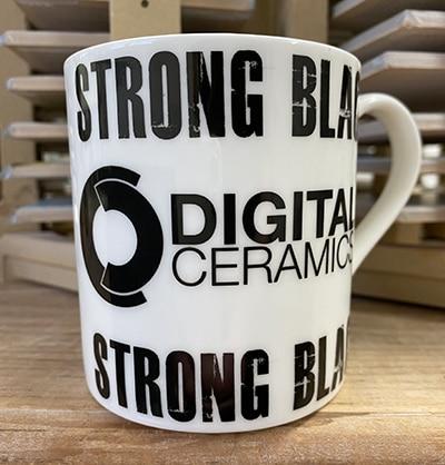 Strong black mug