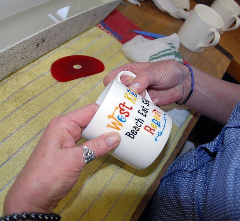 west kurby mug
