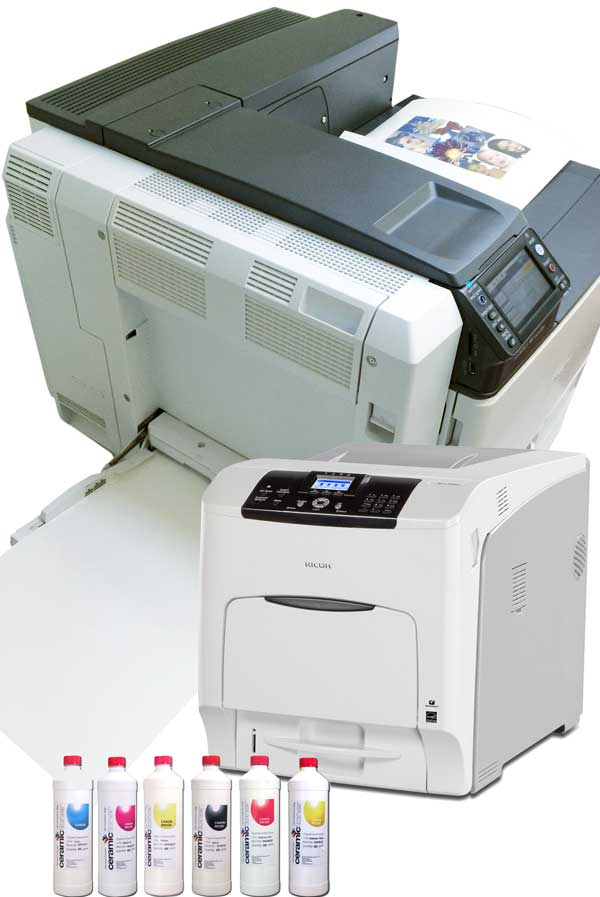 ceramic printer bundle with toner and printer